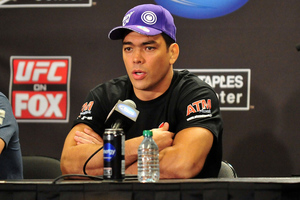 August 4, 2012; Los Angeles, CA, USA; Lyoto Machida after UFC on FOX at Staples Center. Mandatory Credit: Gary A. Vasquez-US PRESSWIRE