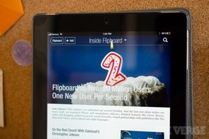 Flipboard 20 million users