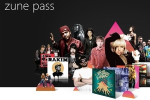 Zune Pass Music Service