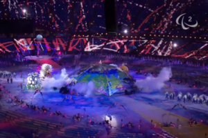 Higgs boson at Paralympics opening ceremony