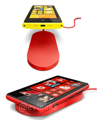 Lumia 920 wireless charging pad