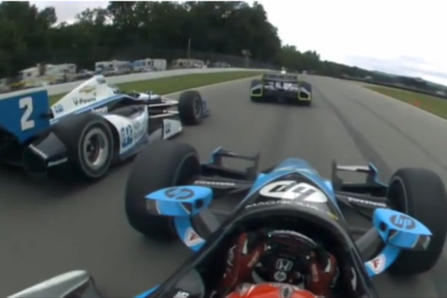 IndyCar Onboard footage