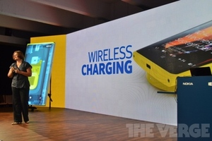 lumia wireless charging
