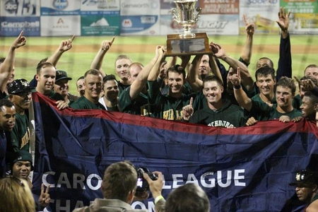 The Lynchburg Hillcats are the 2012 Carolina League Champs!