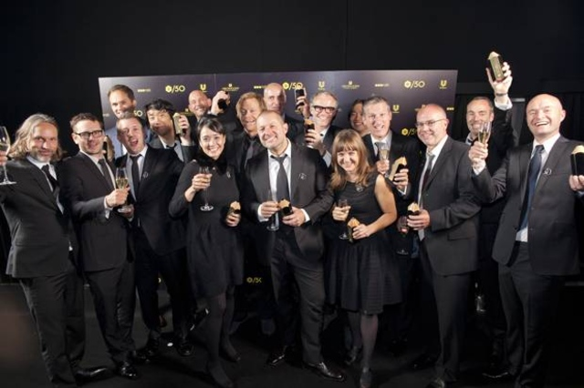 Apple design team receive D&AD award