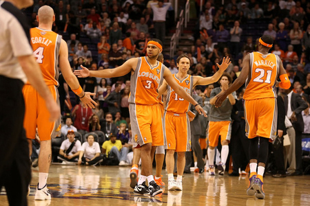 Suns are most commonly associated with lovable, orange and Steve Nash.