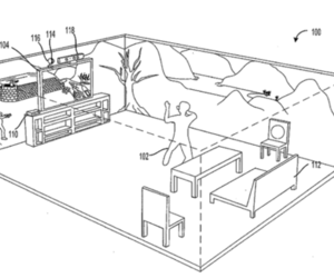 Microsoft immersive display Holodeck patent