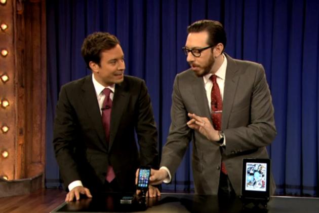 Josh on Late Night with Jimmy Fallon