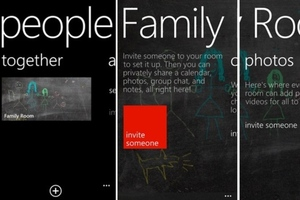Windows Phone 8 Rooms