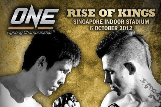 One Fighting Championship - Rise of Kings Singapore Indoor Stadium