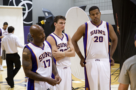 Suns media day thrills. (Photo by Ryan Malone, SB Nation Arizona)