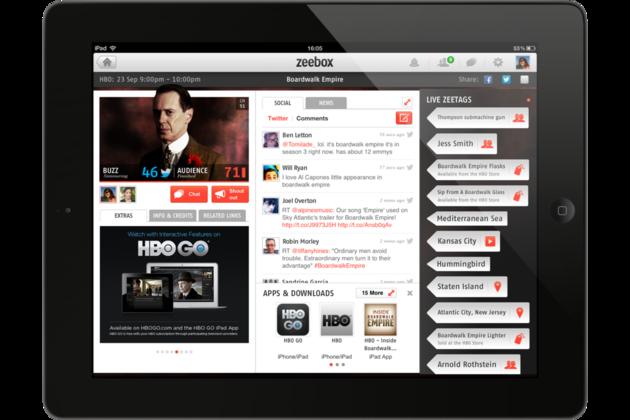 zeebox app with hbo go