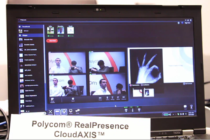 Polycom RealPresence CloudAxis stock 
