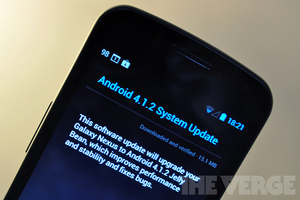 Galaxy Nexus 4.1.2 update