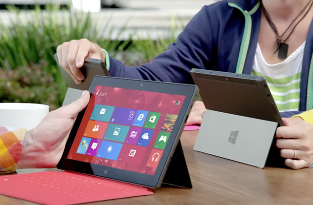 Surface ad