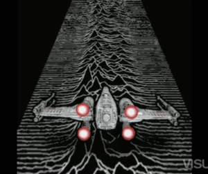 Unknown Pleasures X-Wing