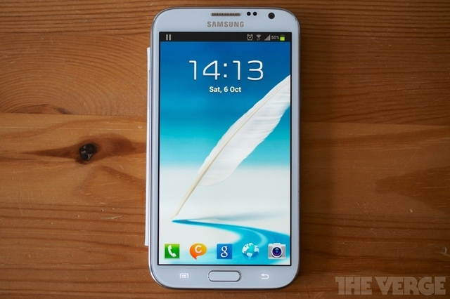 Galaxy Note II video review