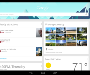 android 4.2 google now