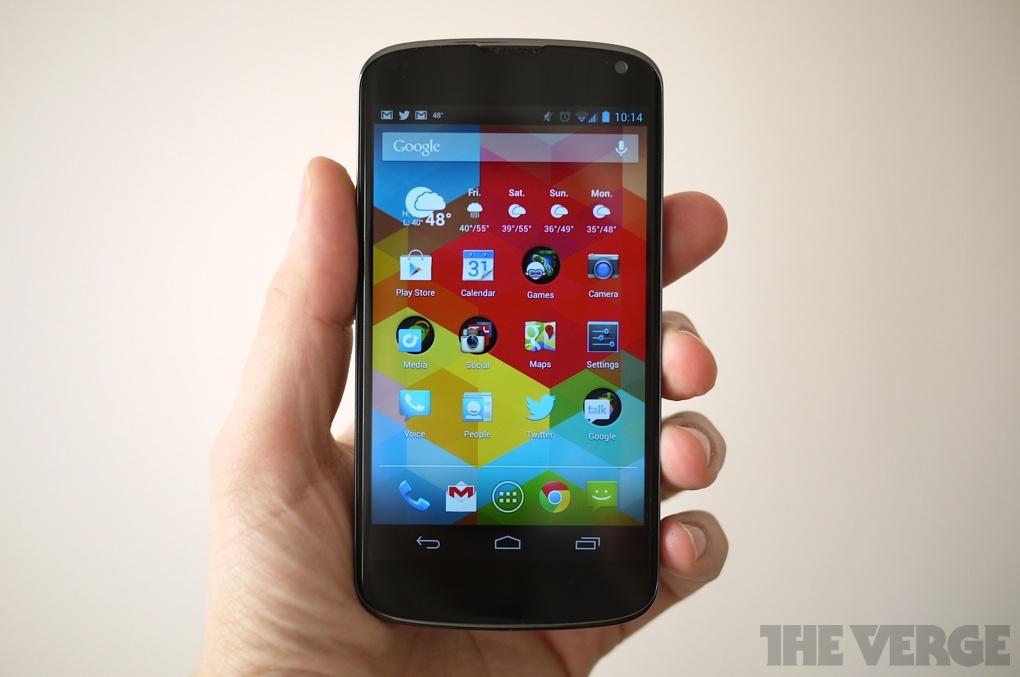 Nexus 4 review | The Verge
