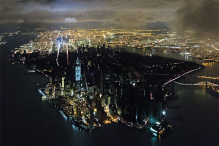 Iwan Baan aerial shot of NYC