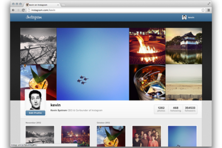 instagram web profiles