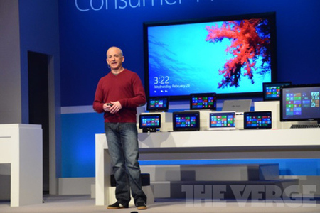 Windows 8 Consumer Preview Event Steven Sinofsky