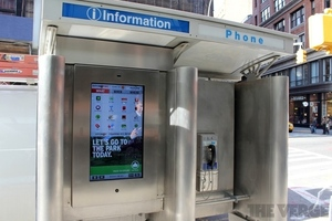 New York Touchscreen Kiosk
