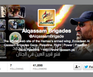 alqassam brigades twitter hamas