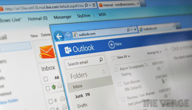 Outlook Hotmail