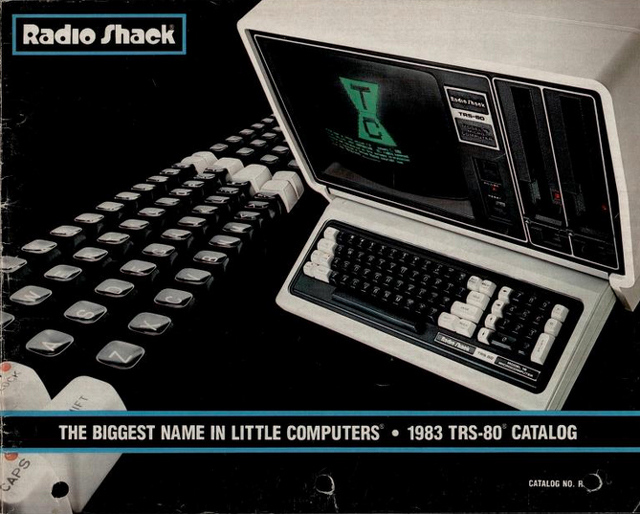 Radio Shack TRS-80 Computer Catalog cover