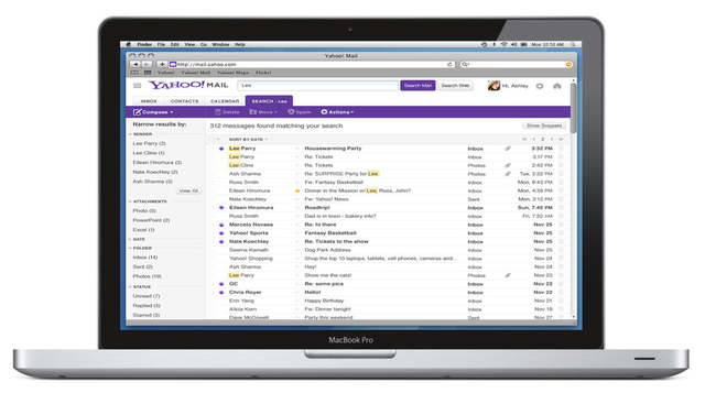Yahoo Mail update