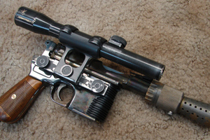 STEVE DYMSZO han solo blaster
