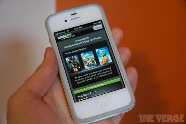 Amazon Instant Video iPhone