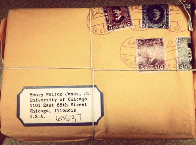 university of chicago indiana jones mail