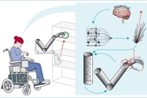 Mind-controlled robotic arm interface