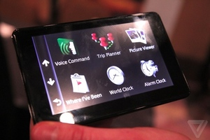 Gallery Photo: Garmin 3500 nvi GPS line and Android app photos