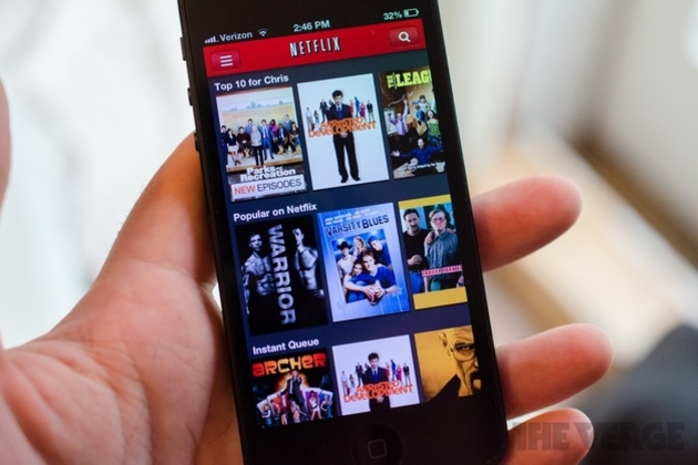 Netflix iPhone 5