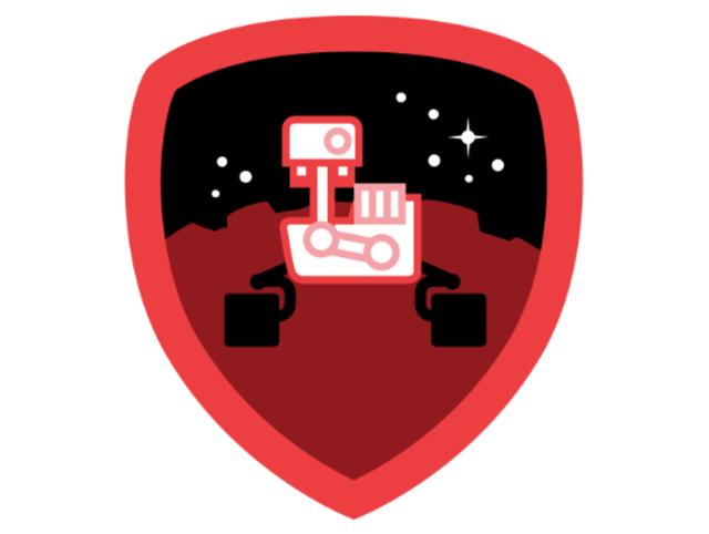 NASA Foursquare Badge