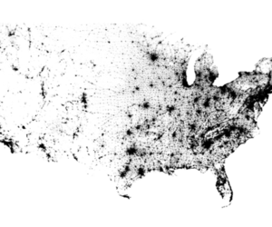 Census Dotmap