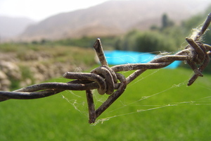 Barbed wire (Wikipedia)