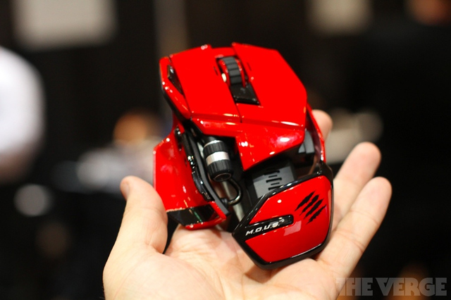 Gallery Photo: MadCatz M.O.U.S.9 and R.A.T.M hands-on