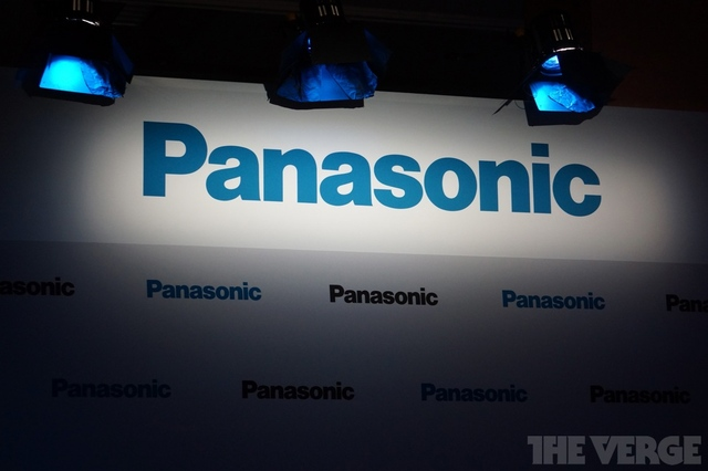 panasonic press conference stock logo