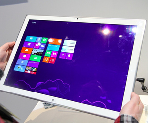 Gallery Photo: Panasonic 4K Windows 8 tablet hands-on photos