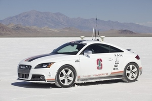 Audi self-driving TT