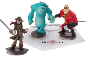 Gallery Photo: 'Disney Infinity' toys and screenshots