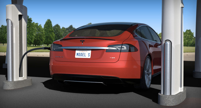 tesla supercharger model s