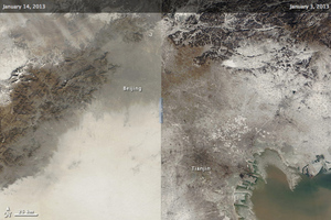 beijing smog nasa photos