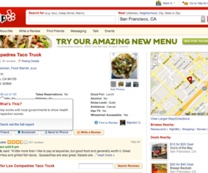 yelp hygiene scores