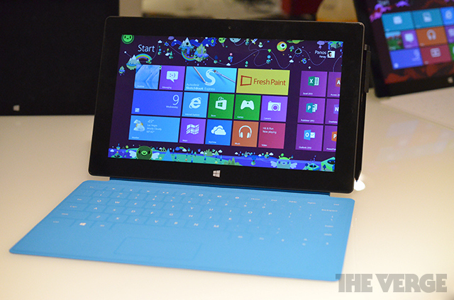 Surface Pro sales begin on February 9th in the US and Canada, starting at $899