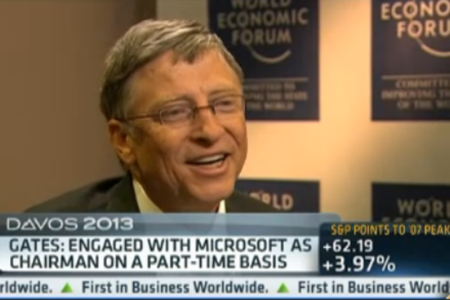 Bill Gates CNBC interview small